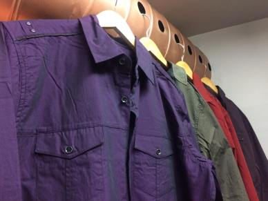 Ruggedly stylish and high-quality men's shirts.
